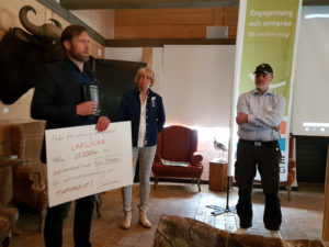 Donation Mattias Holmquist